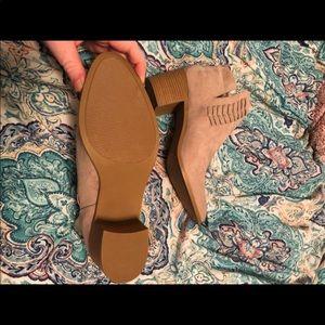 Maurice's Taupe booties!